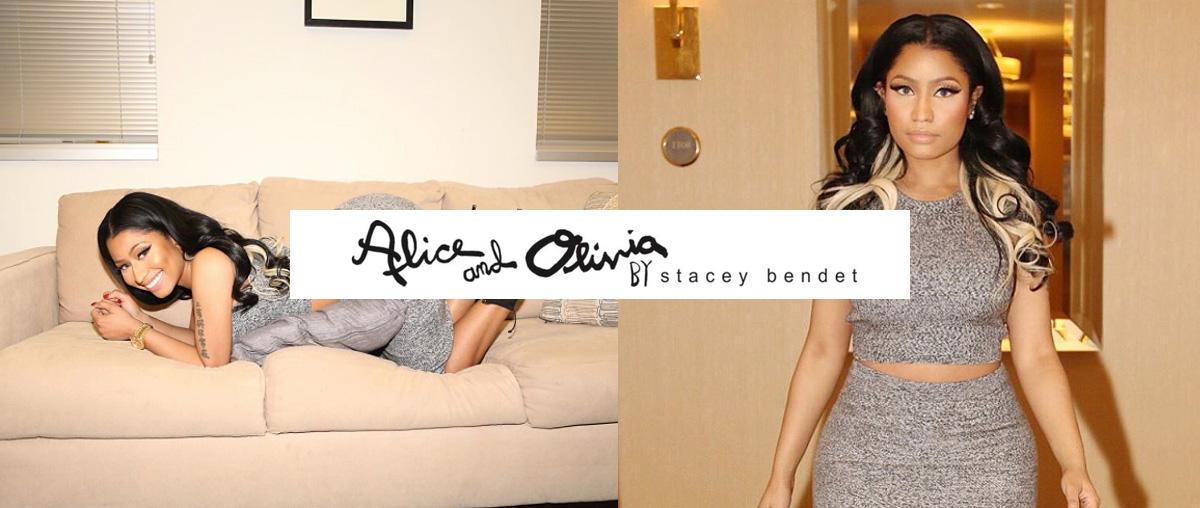 Nicki Minaj + Alice and Olivia