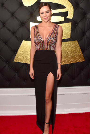 Katherine McPhee Grammy Awards 2017